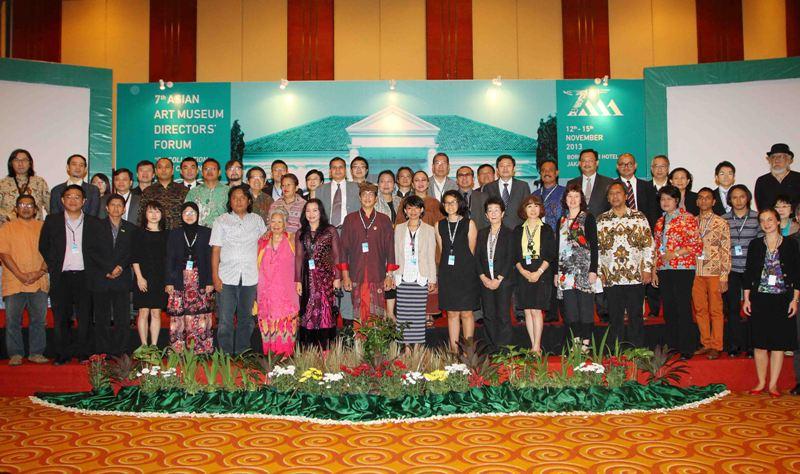 Pembukaan Forum Direktur museum seni Asian ke 7, yang diadakan di Hotel Borobudur Jakarta  (3)aa