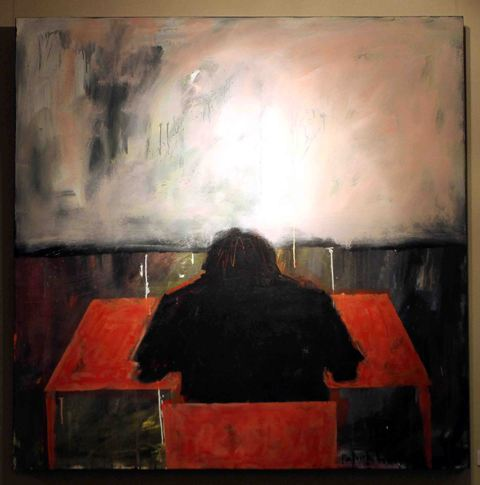 Patrick Wowor, 'Deadline', 140 x 140 cm, 2013