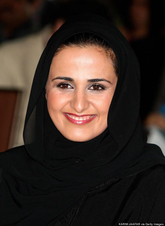 Sheikha Mayassa bint Hamad al-Thani, daughter of the Emir of Qatar and head of the Board of the Qatar Museums Authority.
