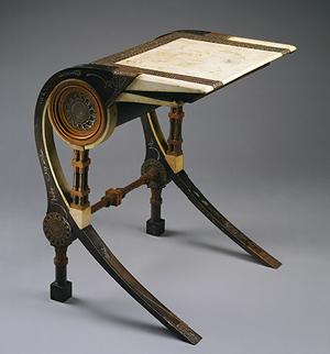 Meja karya Carlo Bugati (Italia, 1856-1940)