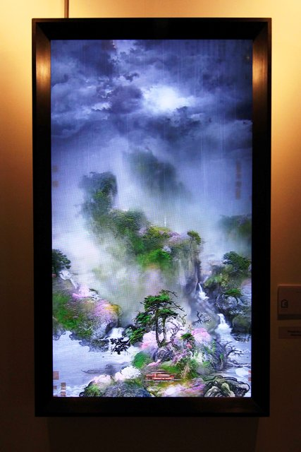 Lee Lee-Nam, Early Spring - Four seasons 2, 55 inchi, LED TV, 2013