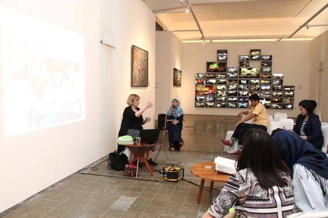 Seminar 'Bringing Museums to Life!' bersama Karin Rottmann. Image Source : Jacky Rachmansyah