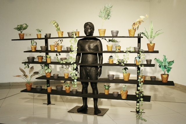 Rd. Arya Pandjalu, Garden of Delight, variable dimension, 2011.