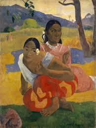 Lukisan karya Paul Gauguin, When Will You Marry, yang menjadi lukisan termahal di dunia (sumber: wikipedia)