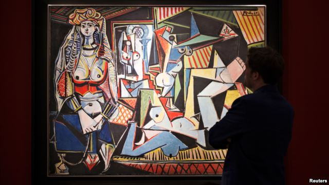 The Woman of Algiers - Version O karya Pablo Picasso (sumber: Reuters)