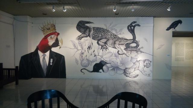 Mural, karya Guntur Wibowo