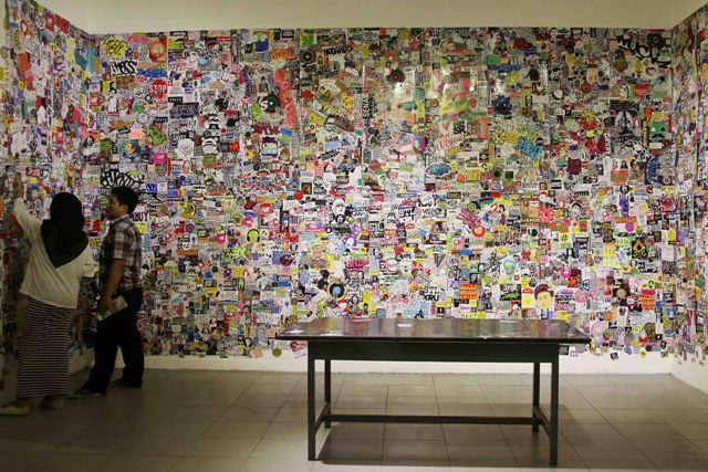 Pameran Visual Jalanan berjudul Bebas Tapi Sopan di Galeri Nasional (3)