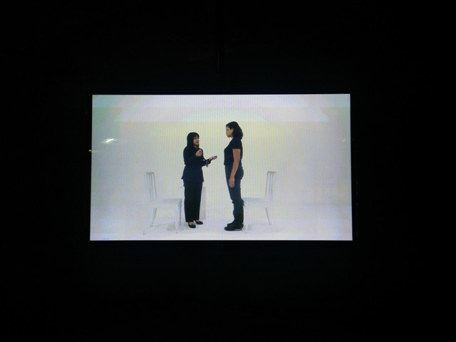 Defining Excellence, Julia Sarisetiati, Single Screen HD Video Installation, 2015.