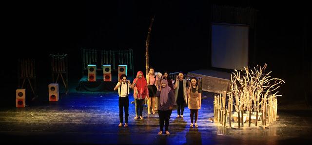 Pertunjukan Teater Beska SMA Bhakti Kartini Bekasi,