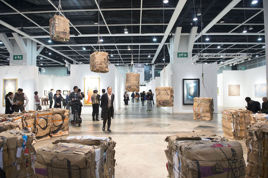 Five Tonnes of Homes and Other Understories, karya Tintin Wulia di Art Basel Hong Kong 2016