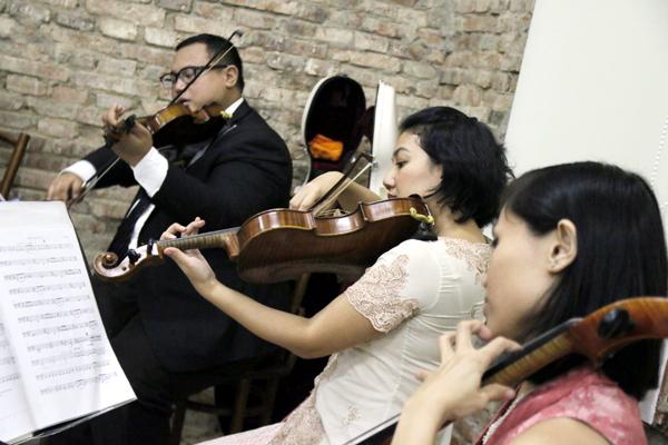 Chroma String Quartet. (Foto: Jacky Rachmansyah)