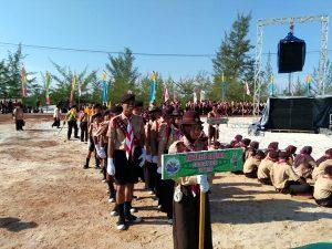 Peserta Kemah Budaya Nasional 2016. (Foto Rizaldy Yusuf)