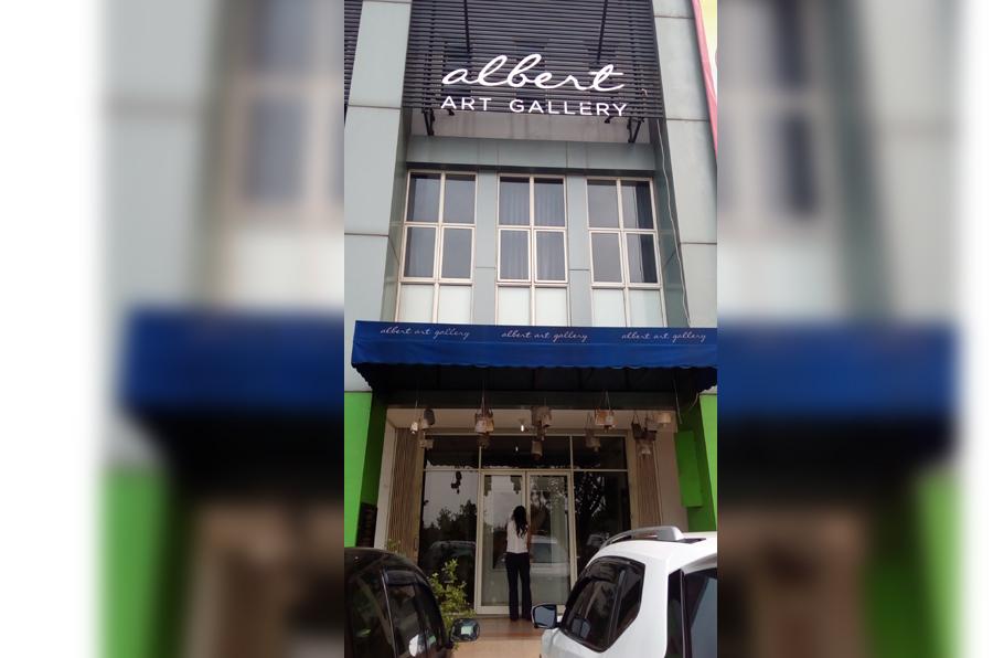 Albert Art Gallery di Alam Sutera, Tangerang Selatan. (Foto: Silvia Galikano)