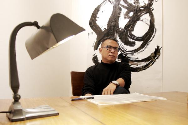 Nirwan Dewanto. (Foto: Jacky Rachmansyah)