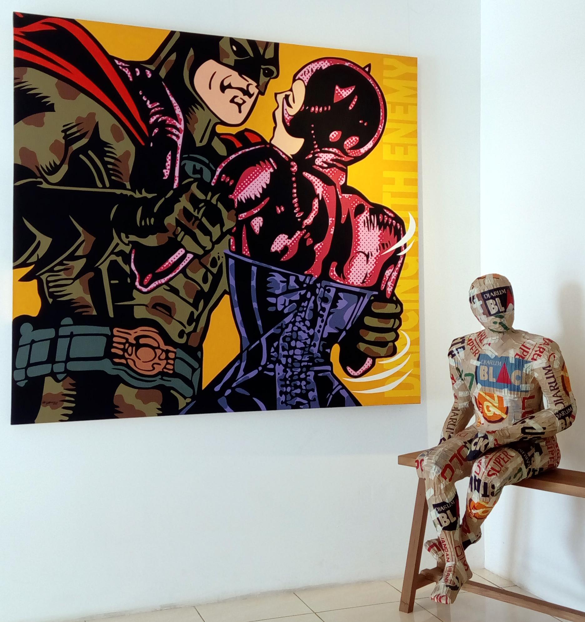 Patung karya Didi Kasi, 2013. (Foto: Silvia Galikano)