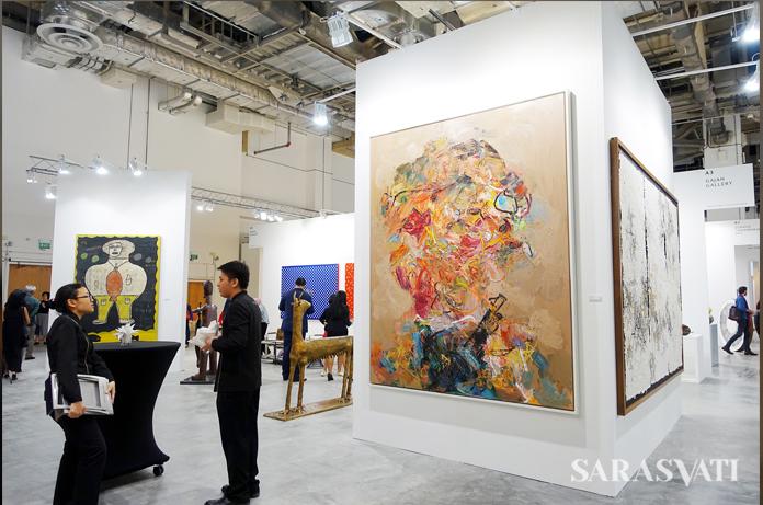 Art Stage Singapore di Marina Bay Sands, Singapura, 12-15 Januari 2017. (Foto: Renjana Widyakirana)