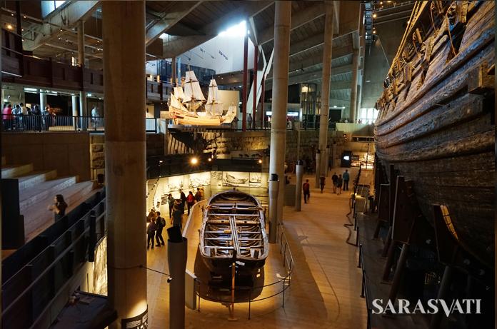 Interior Vasamuseet. (Foto: Renjana Widyakirana)
