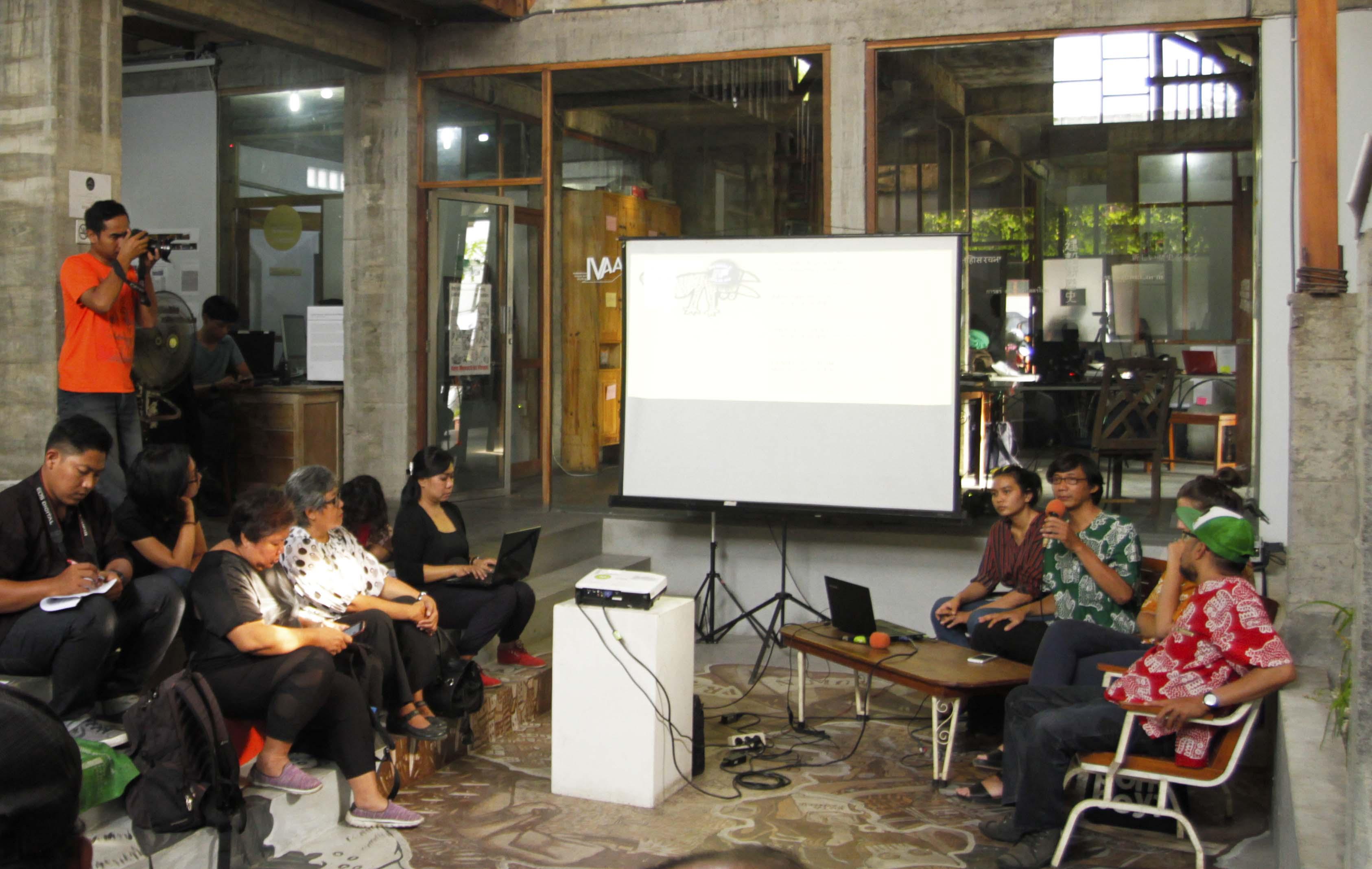 persiapan Biennale Jogja XIV