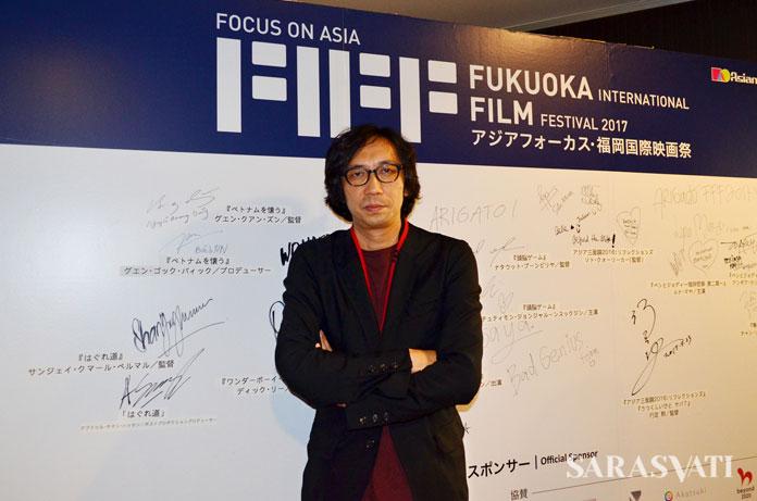 Sutradara film Pigeon, Isao Yukisada (Foto: Dewi Ria Utari)