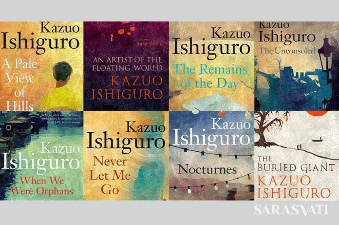Buku-buku Kazuo Ishiguro (Foto: Istimewa)