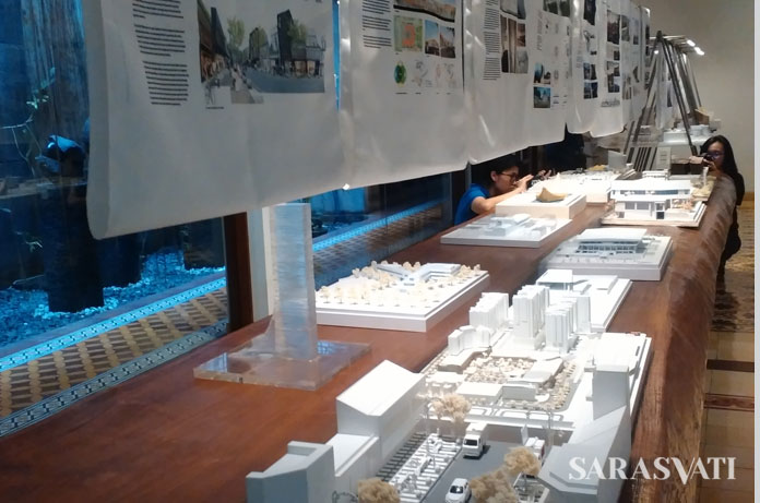 Pameran The Indonesian Architects Week @Seoul 2017di Roemah Seni Sarasvati