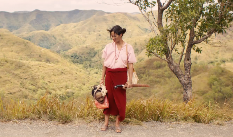 Bukit-bukit Sumba menghiasi perjalanan Marlina yang membawa kepala Markus (Foto: Istimewa)