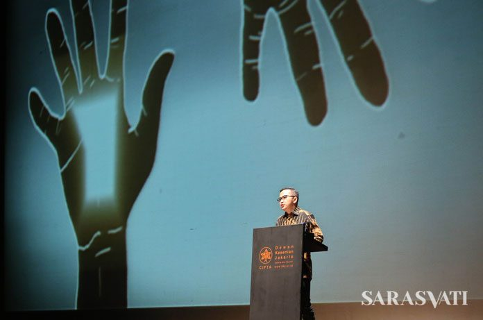 Pidato Kebudayaan Roby Muhamad