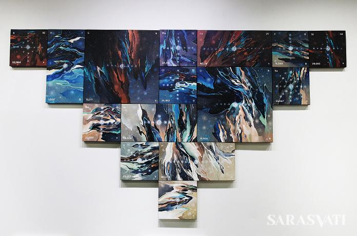 Radhinal Indra_Alignment_uk 150x270 cm_Acrylic on canvas_2017