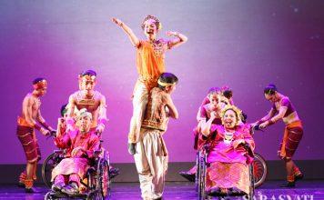 Kolaborasi EKI Dance Company dengan anak-anak YPAC di EKI Update 3.0 (Foto: Jacky Rachmansyah)