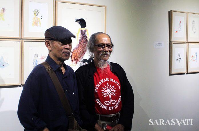 Goenawan Mohamad dan Djoko Pekik