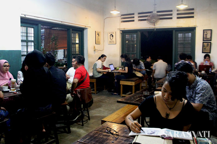 Omerta Koffie tempat ngopi asyik di Medan