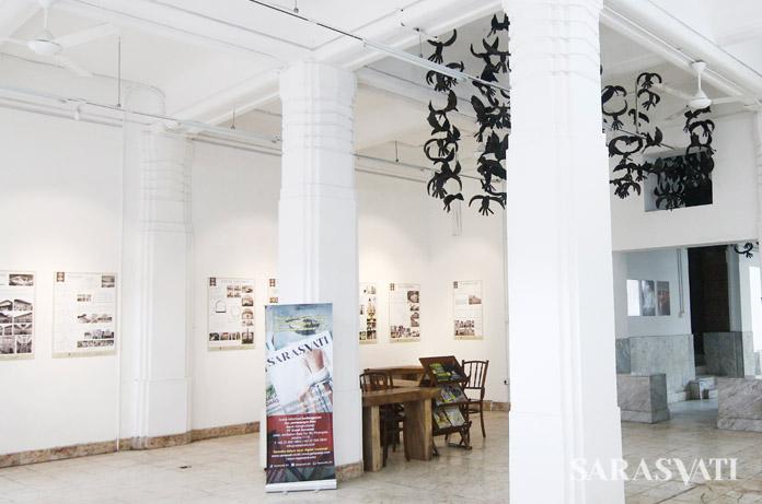 Suasana lantai 1 gedung OLVEH, yang biasa dimanfaatkan untuk berbagai kegiatan.