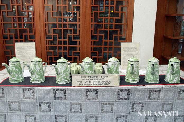 Tradisi membagikan teh gratis yang diteruskan oleh Pantjoran Tea House