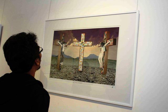 Pameran tunggal Antonio S. Sinaga berjudul In Absentia di Roemah Seni Sarasvati, Bandung (8)