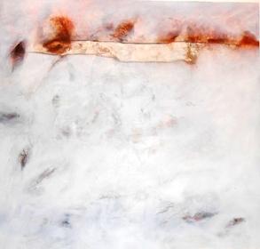Andi Suandi, Peziarah #11, 140x140cm, 2013