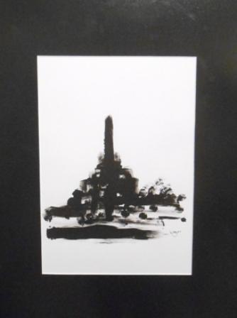 Sketsa hitam-putih, 21x29,7cm, 2013