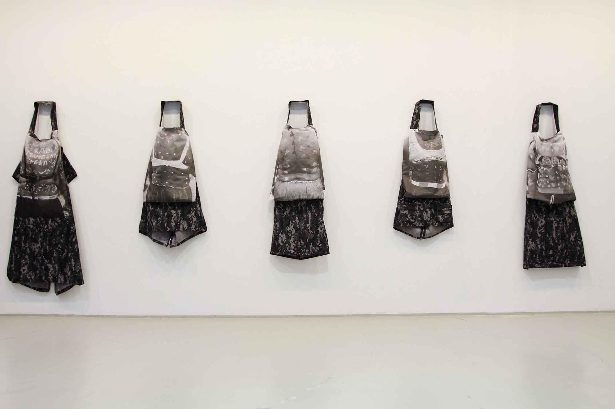 This Shirt Fits Us All (7 costumes), Mella Jarsma, media Digital print on textile, 2009
