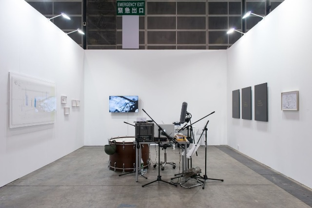 Samson Young di Art Basel Hong Kong 2015 (source: http://www.bmw-art-journey.com)