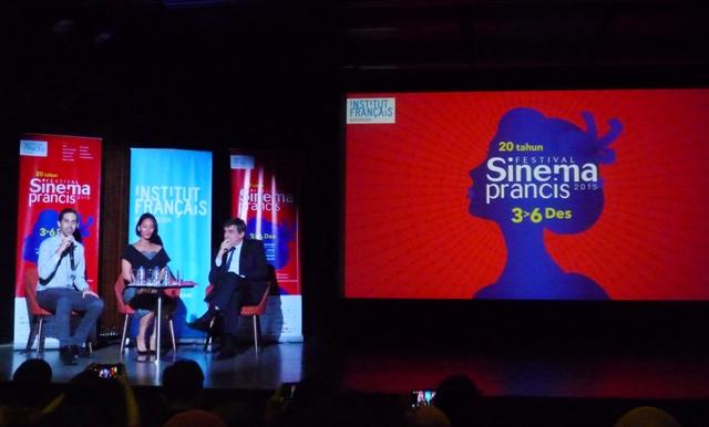 Konferensi pers Festival Sinema Prancis (26/11)