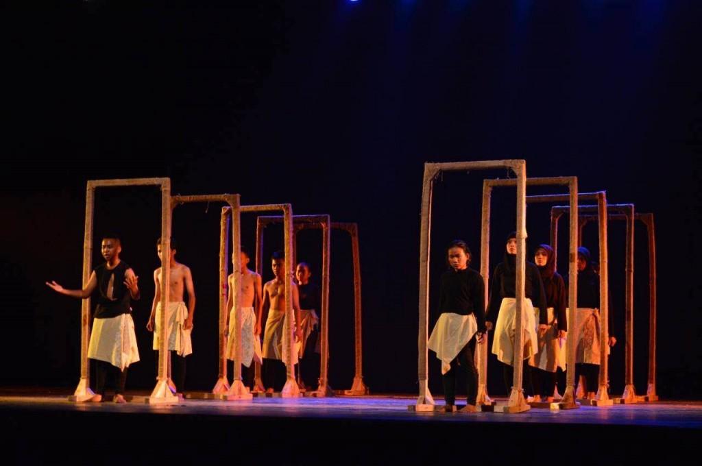 Pertunjukan Teater Gawe SMKN 3 Tasikmalaya,