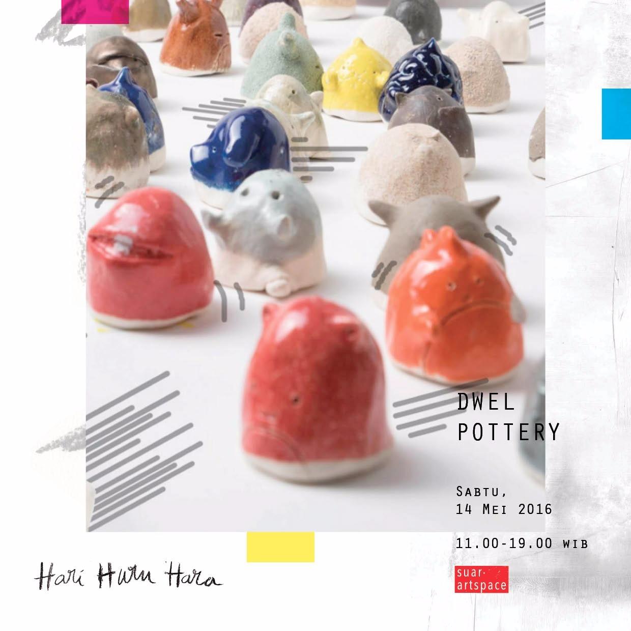 Karya Dwel yang akan hadir di bursa karya seni Hari Huru Hara (sumber: Suar Artspace)
