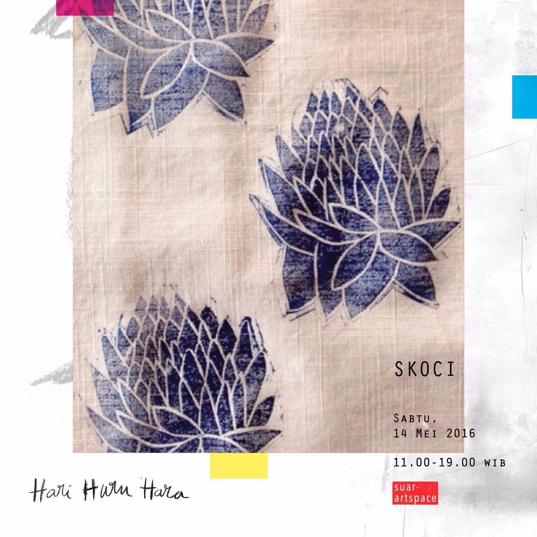 Karya Skoci yang akan hadir di bursa karya seni Hari Huru Hara (sumber: Suar Artspace)