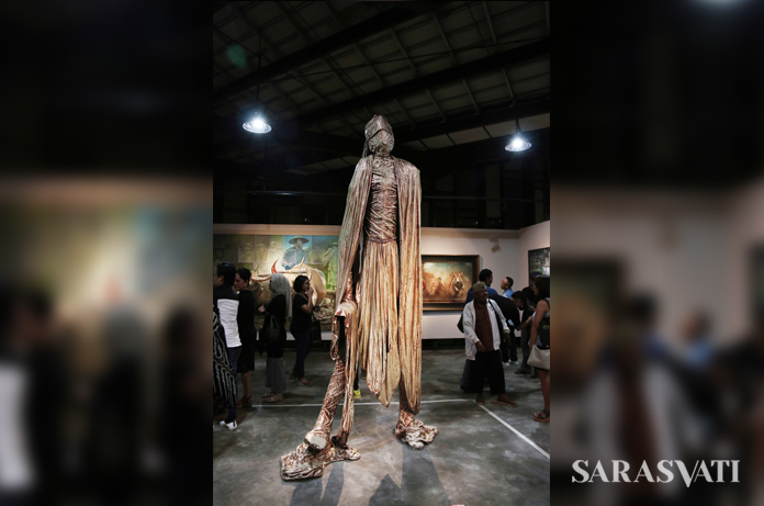 "Pameran ""Art-tivities Now"" di Breeze Art Space, Tangerang. (Foto: Jacky Rachmansyah)"
