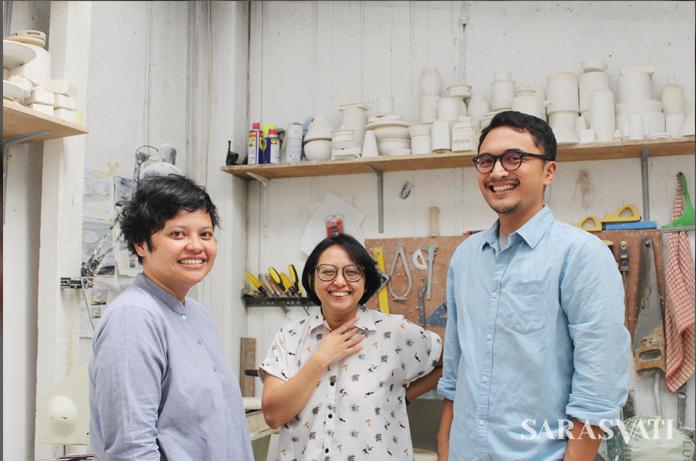 Tisa Granicia, Nuri Fatimah, dan Fauzy Kamal Prasetya. (Dok. Kandura)