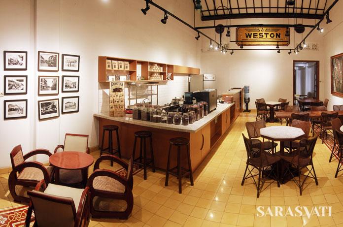 Cafe Serasa di Roemah Seni Sarasvati