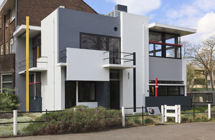Rumah Rietveld Schroder, lambang mahakarya De Stijl.