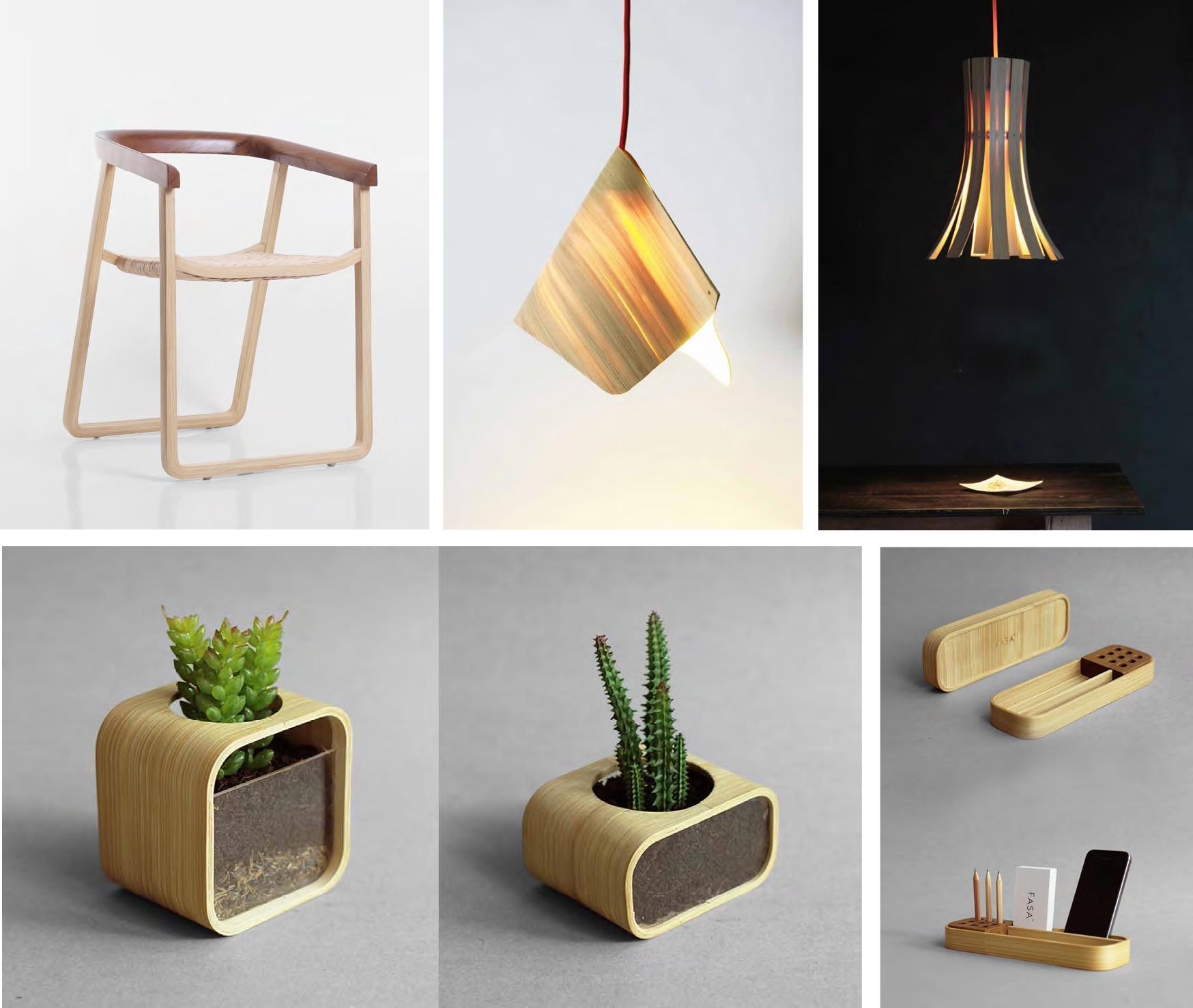 11 Desain Produk Bambu Indonesia yang Dipamerkan di Chiang Mai Design Week 2017,