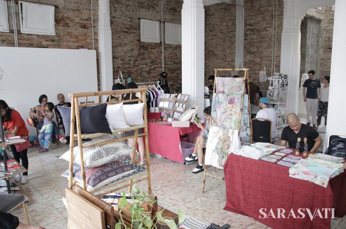 Creative Bazaar OLV Town yang pernah berlangsung di lantai 3 gedung OLVEH