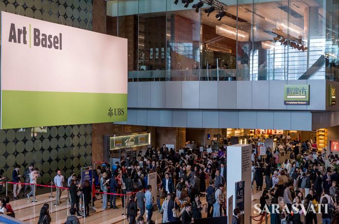 Suasana di Art Basel Hong Kong 2017